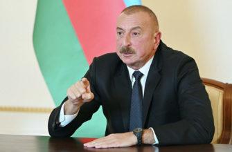 aliev zayavil chto turciya dolzhna vojti v chislo stran po resheniju problemy s nagornym karabahom