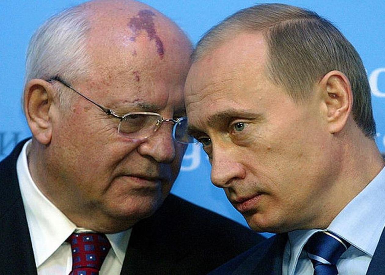 mihail gorbachev posovetoval putinu posledovat svoemu primeru