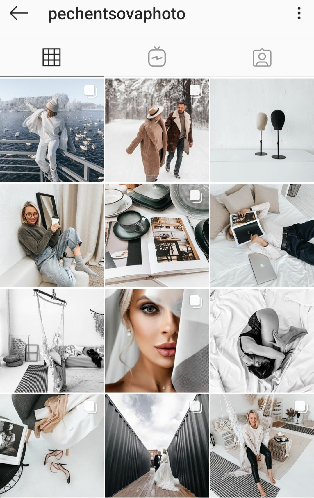 oformlenie stilnogo profilya v instagram dizajn i primery