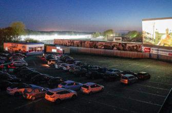 v rossii zapustili pervye avtomobilnye kinoteatry