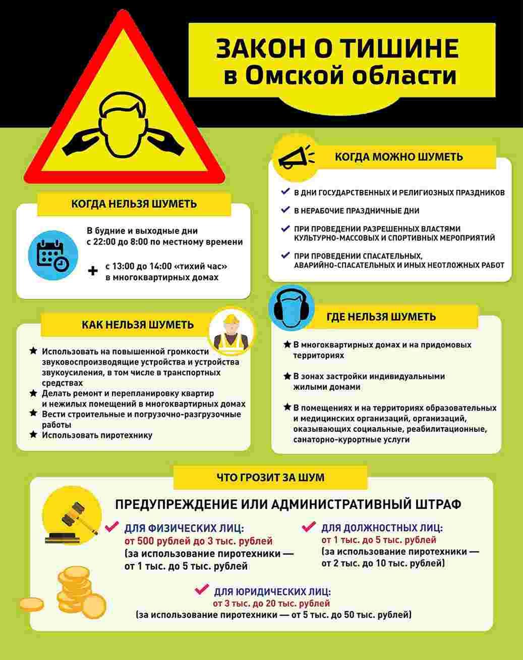 zakon o tishine v omske i omskoj oblasti tekst oficialnogo sajta